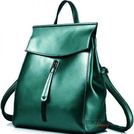 зеленый женский рюкзак
