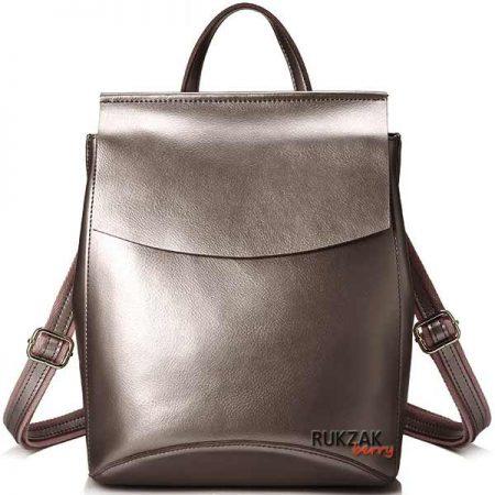 бронзовый женский рюкзак