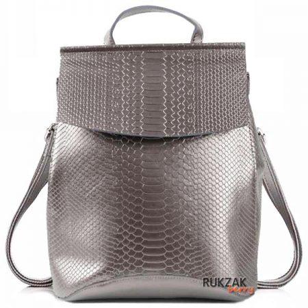 женский рюкзак бронза