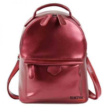 2ffac6b7e3ed Рюкзак АЛИСА Красный Металлик