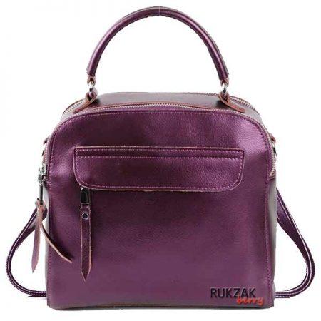сумка рюкзак металлик