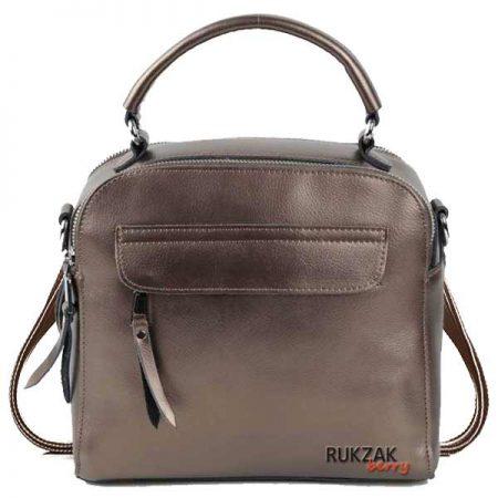 сумка рюкзак бронза