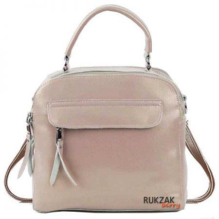 сумка рюкзак бежевый