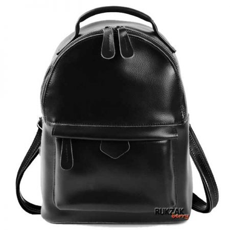 черный женский рюкзак кожа