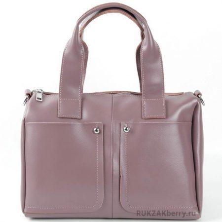 фото модная сумка кожаная сиреневая средняя Кейт