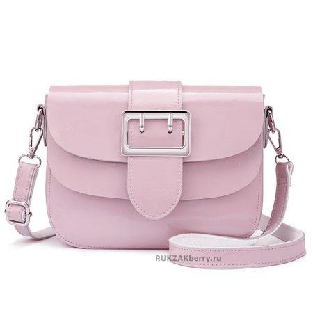 фото модная сумка кожаная розовая Лола