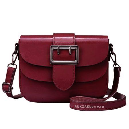 фото модная сумка кожаная красная Лола