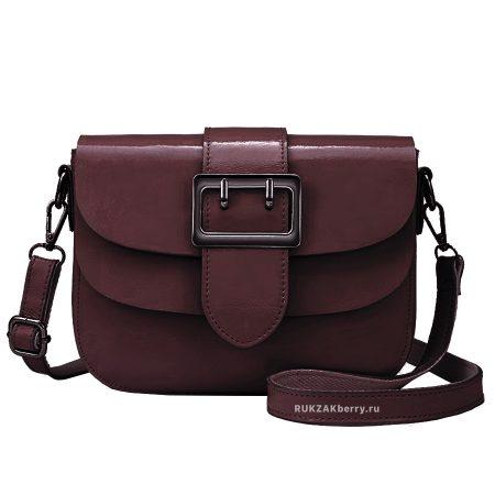 фото модная сумка кожаная коричневая Лола