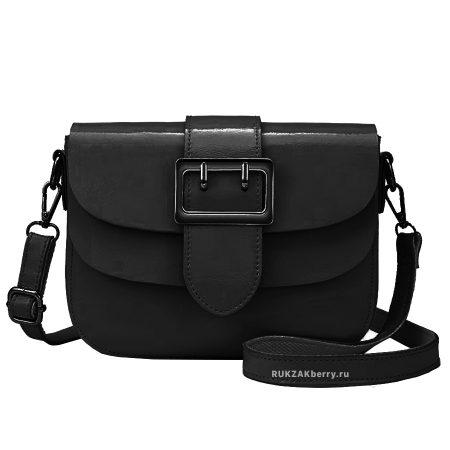 фото модная сумка кожаная черная Лола