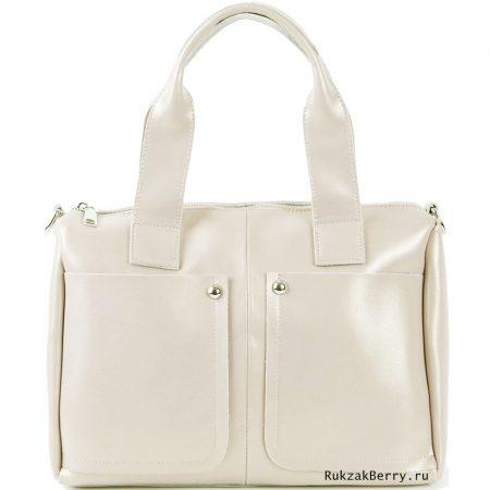 фото модная сумка кожаная бежевая Кейт