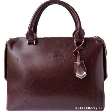 фото модная сумка кожаная коричневая Энди