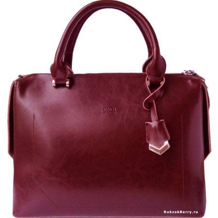 фото модная сумка кожаная красная Энди