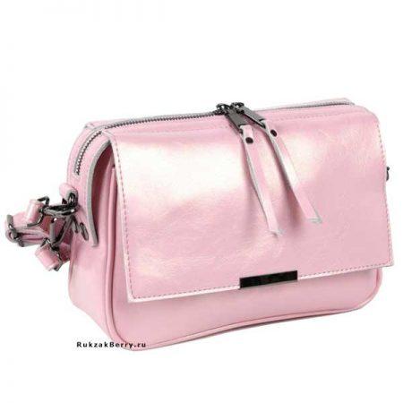 фото модная сумка кожаная розовая Сэнди