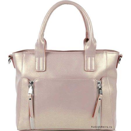 фото модная сумка кожаная бежевая Эльза
